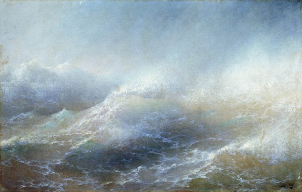 Ivan Aivazovsky (Armenian Painter) 1895