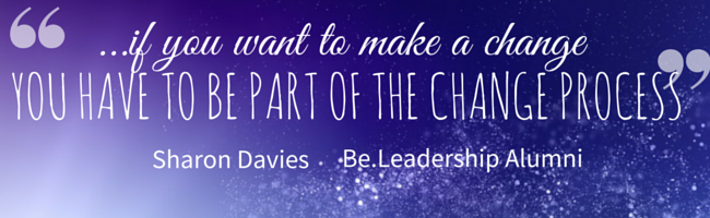 Sharon Davies   Be.Leadership Alumni