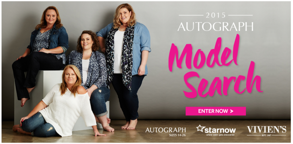 Autograph Model Search graphic
